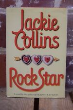 Jackie Collins Rock Star Signed Hardcover 1988
