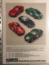 SMTS Models 1/43 kit : RL4 : Lotus Elite Multi version kit:  New in box