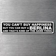 Buy a Berlina sticker premium quality 7 year vinyl water & fade proof Holden