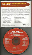Neko Case THE NEW PORNOGRAPHERS Twin Cinema ULTRA RARE 2005 ADVNCE PROMO DJ CD