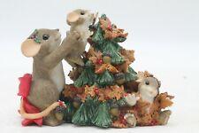 Charming Tails You Help Top Off the Season Christmas 87/138 Fitz & Floyd No Box