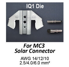 TGR Crimping Tool Die - IQ1 Die for MC3 Solar Connectors AWG 14/12/10