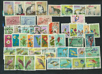 VIET NAM Collection 9 Different Cplt Used Topical Sets Cats Over $22. Retail Val