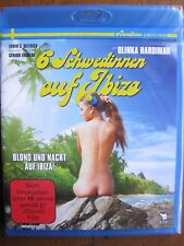 SIX SWEDES ON IBIZA (1981) (Blu-Ray) ERWIN DIETRICH - BRAND NEW, FACTORY SEALED!
