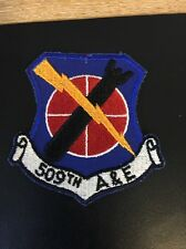 USAF 509th Armaments & Electronics Maintenance Squadron 50s