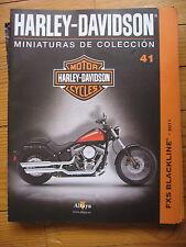 FASCICULE 41  MOTO COLECCION HARLEY DAVIDSON   FXS BACKLINE 2011