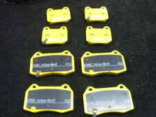 FOR NISSAN 350Z BRAKE PADS FRONT REAR EBC YELLOW STUFF BRAKE PADS