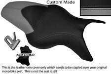 GREY & BLACK CUSTOM FITS BMW K 1200 R 05-08 K 1300 R 09-13 DUAL SEAT COVER