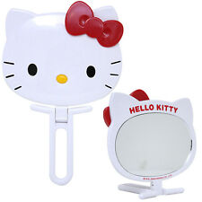 Sanrio Hello Kitty Face with Red Bow Handy Mirror (Fold able) Imported Licensed