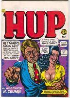 Hup 1 Last Gasp 1987 VF Robert Crumb Mr. Natural 1st Print