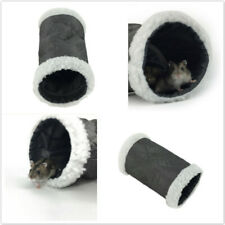 Animal Tunnel Exercise Soft Tube Pet Toy for Rabbit Ferret Hamster Guinea Pig GR