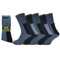 New Men's *5 Pack* Heavy Duty Hard Wearing Comfort Arch Support Work Socks B3