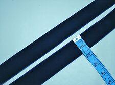 """5 yards - 1 1/2"""" Light Navy Crush Resistant Velvet Ribbon"""