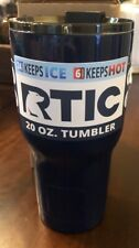 RTIC 20 Oz Navy Tumbler - Makes a Great Gift - Free Shipping !!