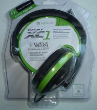NEW SEALED Turtle Beach Turtle Beach EAR FORCE XC1 Black/Green Xbox 360 Headset