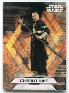 2017 Star Wars Rogue One Series Two Character Stickers 14 Chirrut Imwe