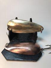 Vintage Lot Of Dardevlet Detroit Usa Made I Think 1-Copper &1Brass Don't Think T