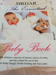 Sirdar baby knitting pattern book No 273 - contains 12 knitting patterns