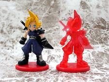 Final Fantasy Coca Cola Promo Figure Cloud Color & Crystal set