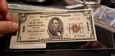 $5 1929 The First National Bank of Farmingdale, New York CH# 8882