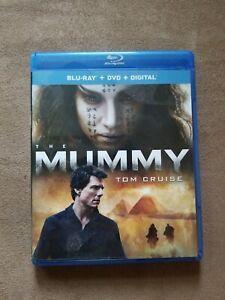 The Mummy (Blu-ray, DVD 2017) NO DIGITAL CODE NEW otherwise TOM CRUISE