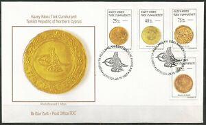 1997 TURKEY TURKISH CYPRUS COINS  FDC