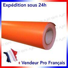 Film Vinyle 3D Orange Mat adhésif thermoformable 152cm x 20cm