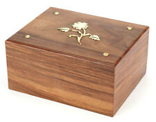 Hadley Wooden Cremation Ashes Adult Urn 150Cl - UU110013B