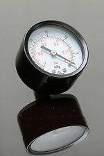 "New PRM -30-0 HG Vacuum Gauge 2"" Steel Case ¼"" Brass NPT Back Connect"