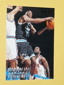 #78 ANFERNEE HARDAWAY ORLANDO MAGIC 1996-1997 NBA BASKETBALL FLEER CARD USA