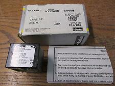 New Nos Parker Gold Ring Bfph05 Solenoid Valve Coil 110/120V 50/60Hz Class F