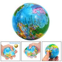 Entspannung Anti Stress Ball Globe Kugel Spielzeug Squeeze Langsame Zugstufe