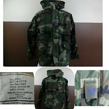 VTG 1996 US MILITARY GORE-TEX JACKET COLD WEATHER PARKA Camouflage ECWCS Lg Reg.