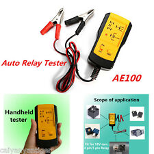 DC12V Electronic Automotive Relay Tester Car Automotive Battery Checker AE100