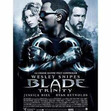 Affiche 40x60cm BLADE: TRINITY 2004 Wesley Snipes, Kris Kristofferson, Ryan Re
