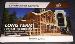 Brinno Construction Time Lapse Camera Kit - BCC100 - New - Sealed Box