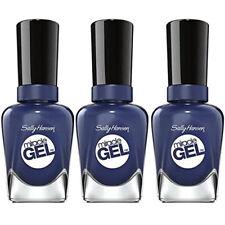 NEW Sally Hansen Miracle Gel Nail Polish Midnight Mod 0.50 Ounces (3 Pack)