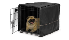 24 Inch Privacy Dog Crate Kennel Cover Pet Wire Cage Folding Cover Machine Wash