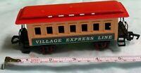 "New Bright Wintersville Express #174 Passenger Train Car SMALL Scale 6"" Nice"