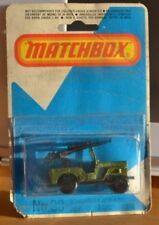 Coches, camiones y furgonetas de automodelismo y aeromodelismo Matchbox 1-75 color principal verde