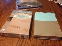 NEW Italian Duo-Tone Leather! NIV Engaged Couples' (Devotional) Bible -Zondervan