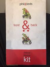 Phil & Teds Vibe Double Kit Second Seat, Red & Black Click to Double your Buggy