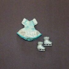 Barbie Chelsea Doll Ice Skating Dress Outfit Skates Clothing Costume