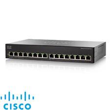 NEW Cisco SG110-16 16-Port Gigabit Desktop Unmanaged Network Switch Ethernet LAN