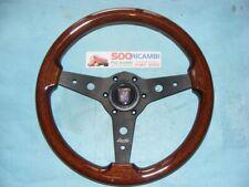 FIAT 500 D/F/L/R VOLANTE SPORTIVO LUISI IN RADICA 34 + CLACSON FRANCIS LOMBARDI
