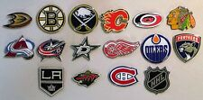 NHL LOGO PINS - COMPLETE SET - 32 PINS TOTAL - ALL NHL LICENSED - ALL NEW!