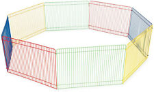 Small Pet Playpen Guinea Pig Rabbit Cage Kit Animal Rodent Gate Barrier Fence