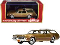 1969 OLDSMOBILE VISTA CRUISER W/ROOF RACK GOLD 1/43 GOLDVARG COLLECTION GC-040 A
