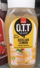Macphie - OTT Sicilian lemon Dessert Topping Sauce 500g