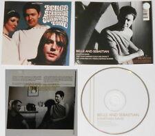 Belle & Sebastian Sing Jonathan David  U.S promo cd Gold DJ Stamp